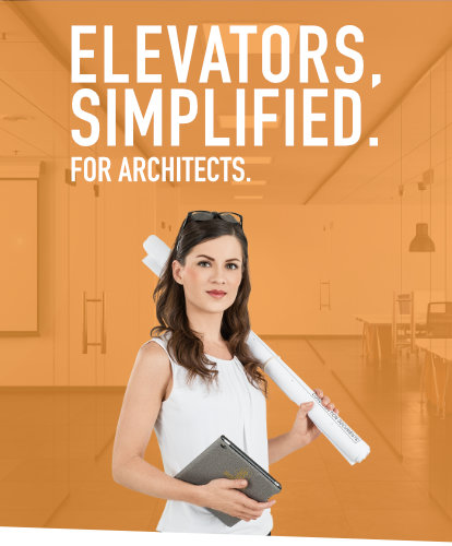 Elevators, Simplified. For Architects.