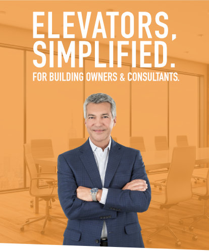 Elevators, Simplified. For Building Owners and Consultants.