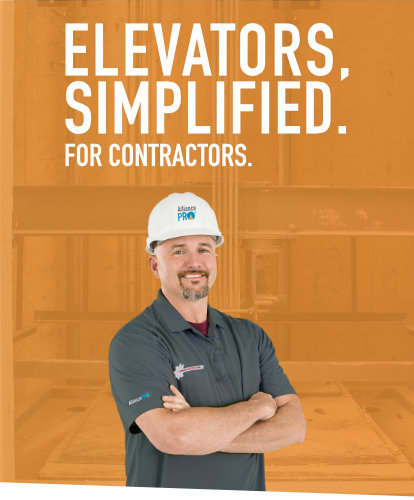 Elevators, Simplified. For Contractors.