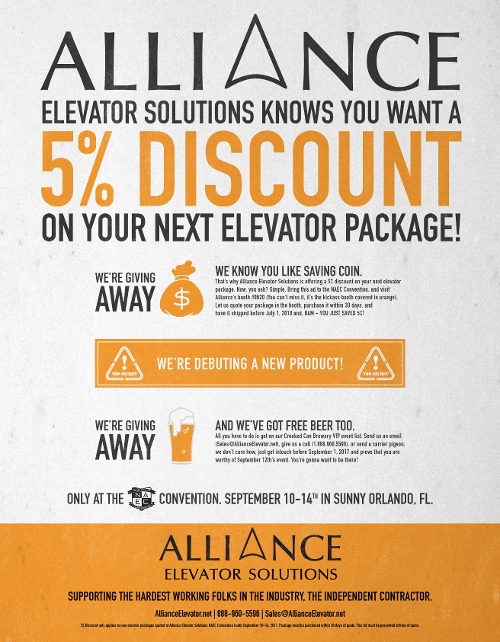 Alliance Elevator - News & Announcements
